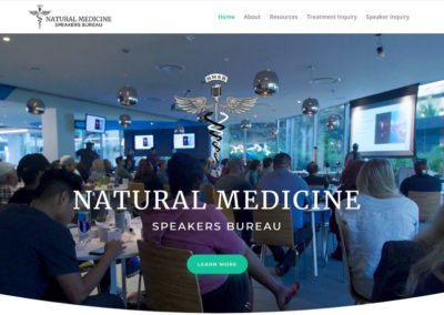 Natural Medicine Speakers Bureau