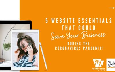 5 Website Essentials that Could Save Your Business During the Coronavirus Pandemic